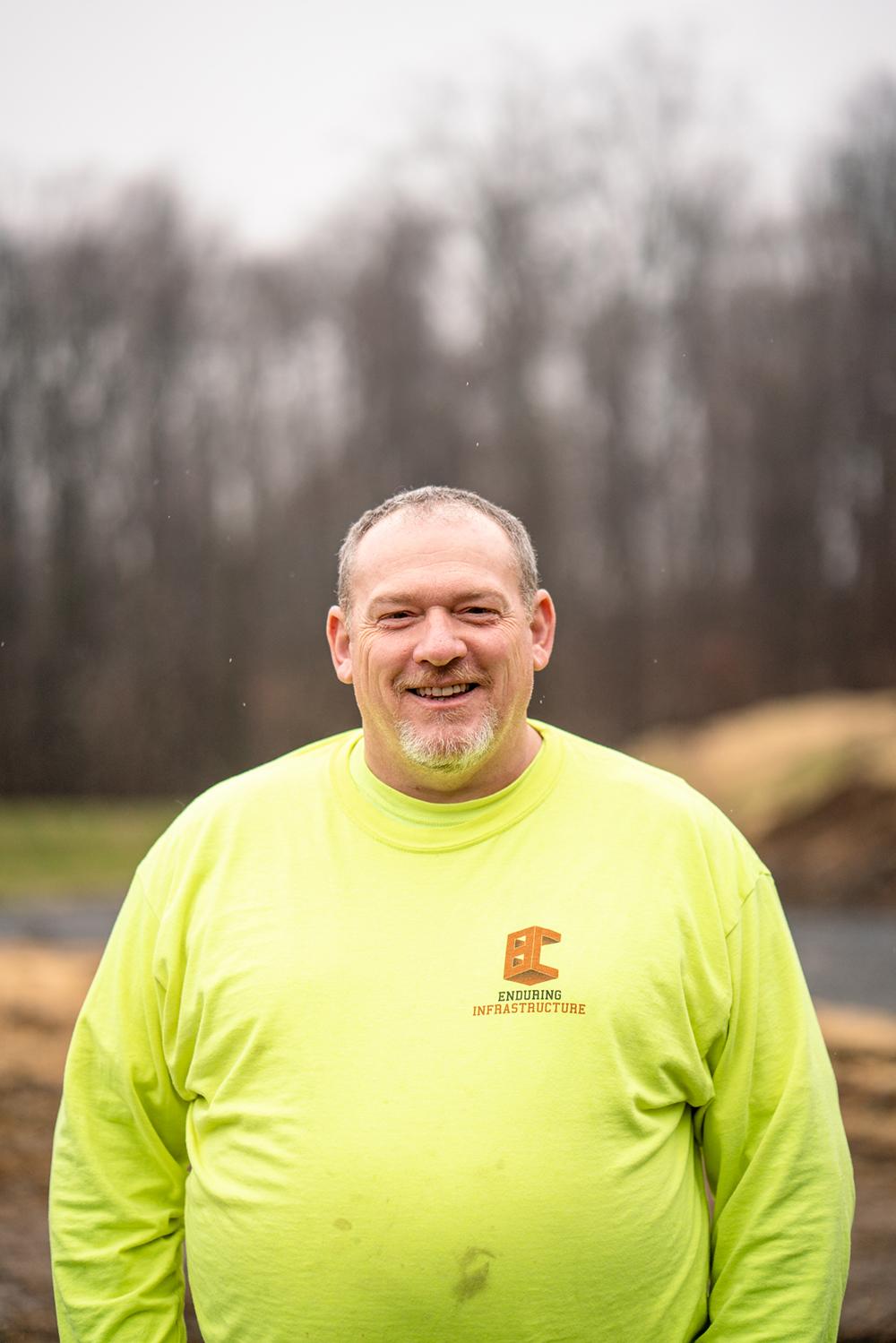 Headshot of Berg Construction Team Member Scott Gross